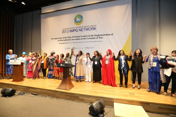 2015 IWPG conference in WARP summit hosted by HWPL