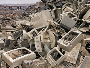 First-world technological waste in third-world countries