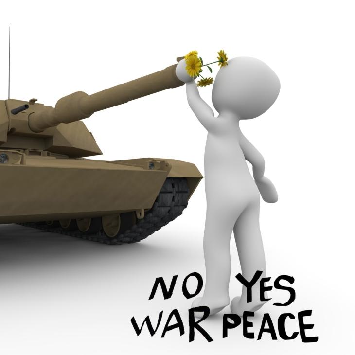 no war yes peace