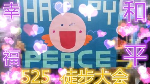 525徒步大会和平幸福的开始 (2)