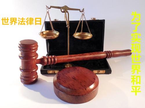 世界法律日,让世界实现和平peace (2)
