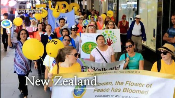 国际妇女和平组织IWPG,用母亲的奉献精神参与525徒步大会 (3)