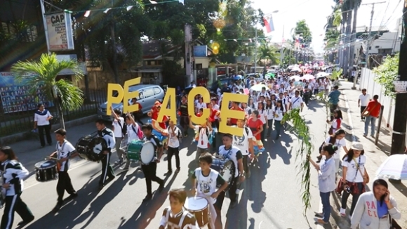 开始和平的始点,525国际和平徒步大会 (2)