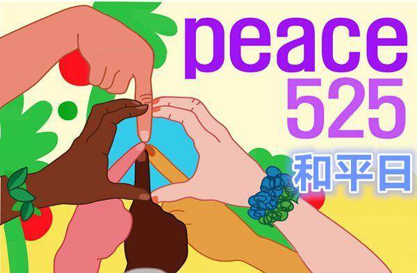 充满爱的和平日子525和平徒步大会走起 (1)