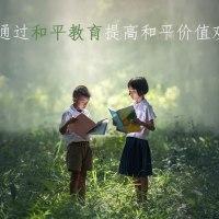 通过和平教育提高和平价值观.