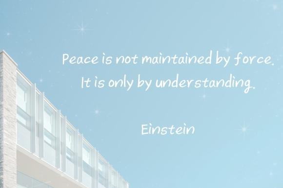 Einstein_peacequote